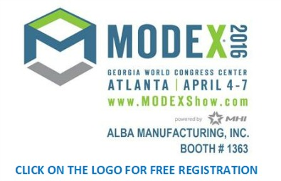 Alba Manufacturing Newsletter - MODEX 2016