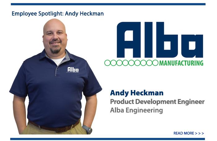Alba Manufacturing - New Employee Blog