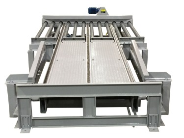 Alba Manufacturing Newsletter - Pallet Transfer and Drag Chain Conveyor