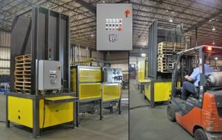 Alba Manufacturing - Pallet Stacker/Destacker
