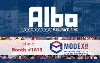 Alba Manufacturing - MODEX 2020