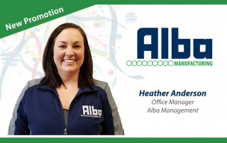 Alba Manufacturing - Heather Anderson
