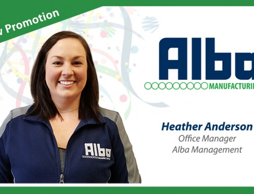 Congratulate Heather Anderson on Her Promotion to Office Manager!