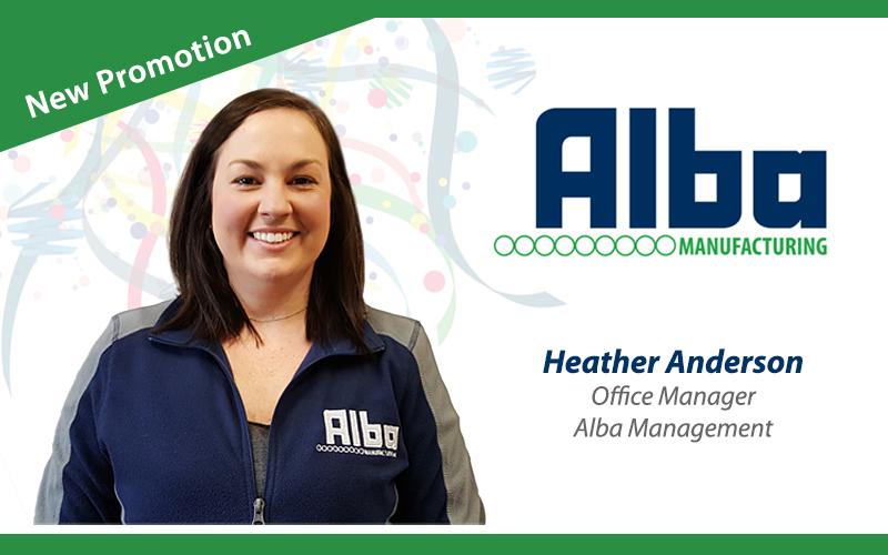 Alba Manufacturing - Heather Anderson