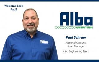 Alba Manufacturing - Paul Schraer