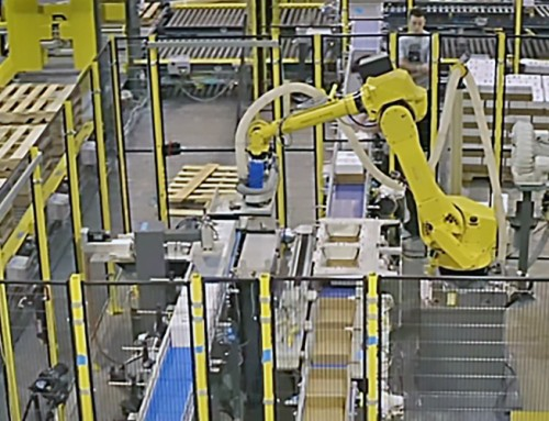 Increased Demand for Fizz Leads to a New Robotic Pallet Conveyance Solution