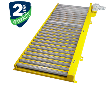 "Alba Manufacturing - Chain Driven Live Roller Conveyor - 2-1/2"" Diameter Rollers"