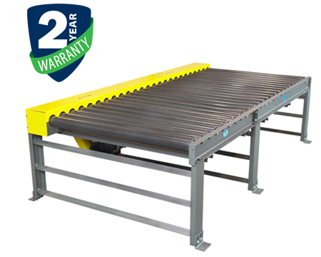 "Alba Manufacturing - Chain Driven Live Roller Conveyor - 3-1/2"" & Larger Diameter Rollers"