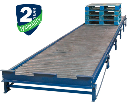 Alba Manufacturing - Gravity Roller Conveyor