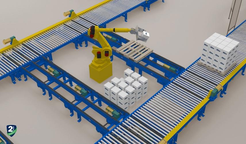 Alba Manufacturing - Conveyor System