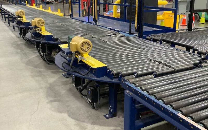 Alba Manufacturing - Pallet Stretch Wrap Lines for Spooled Wire Manufacturing