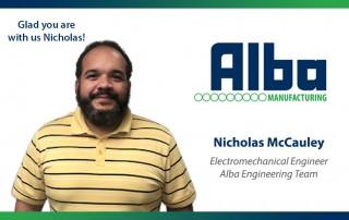 Alba Manufacturing - Nicholas McCauley