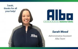 Alba Manufacturing - Sarah Wood