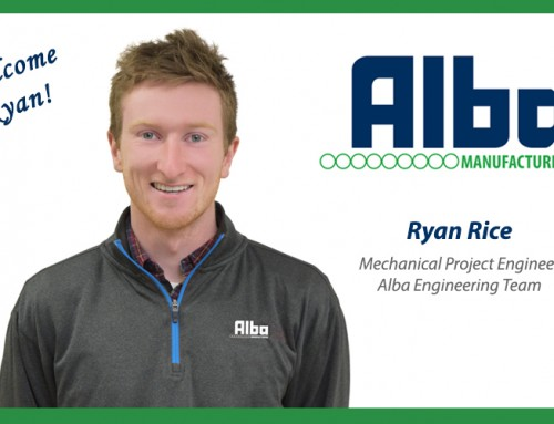 Ryan Rice Joins the Alba Team!