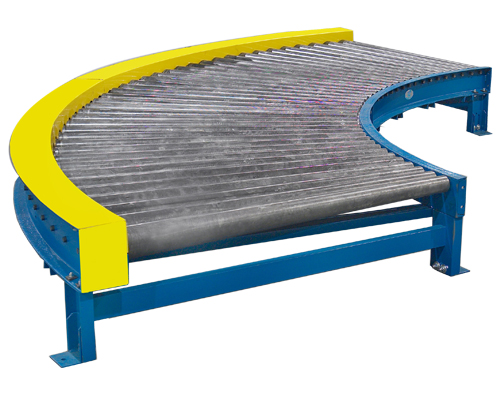 Alba Manufacturing - Chain Driven Live Roller Conveyor Curves