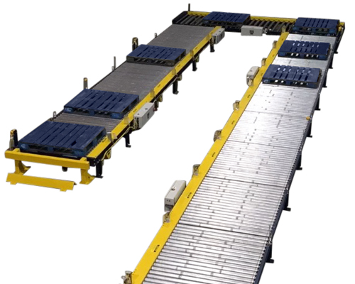 Alba Manufacturing - Zero Pressure Accumulation Conveyor