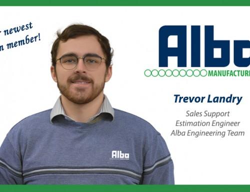 Trevor Landry Joins the Alba Engineering Team!