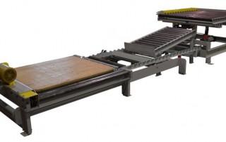 Alba Manufacturing - Pallet Unload Board Return System