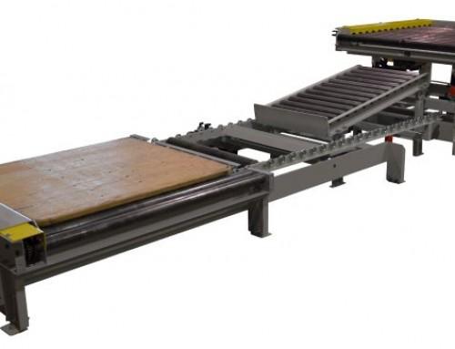 Pallet Unload & Empty Board Return System